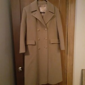 Pendleton virgin wool long coat sz 6